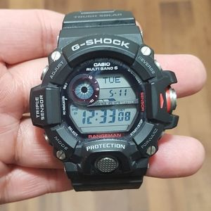 Casio G-Shock Rangeman GW9400-1 Triple Sensor